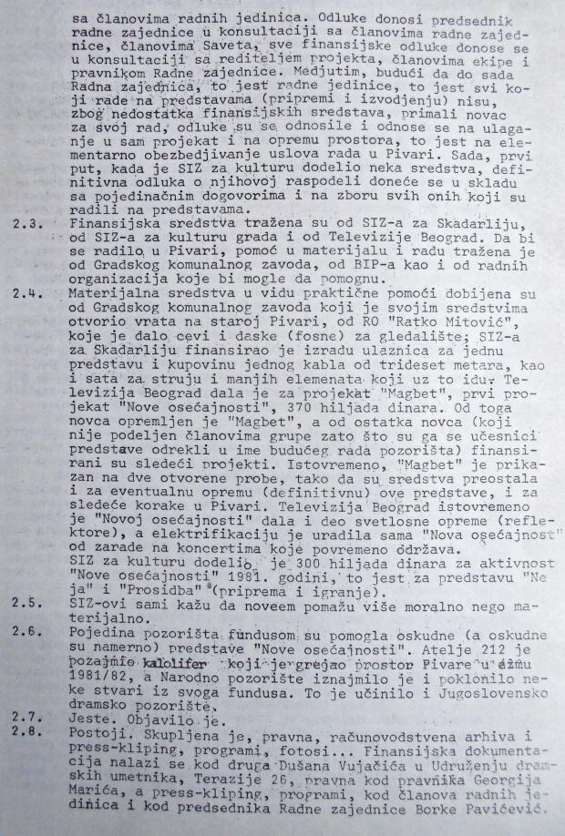 NOVA OSECAJNOST, 1980, str. 2